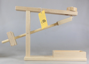 Amish Made Wooden Marble Roller Machine Toy