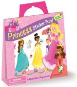 Peaceable Kingdom / Sticker Fun! NEW!! Princess Reusable Sticker Tote