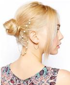 JY Jewellery Fashion Metal Head Chain Jewellery Headband Head Piece Hair band flower hair cuff hair clips HB87