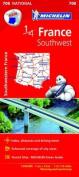 Southwest France Map 2015
