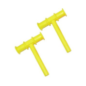 Chewy Tube Yellow, 2 Count