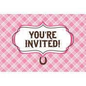 Heart My Horse Invitation Gatefold (8) Invites Birthday Party