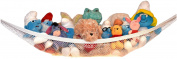 Kidde Time Stuffed Animal and Toy Storage Hammock - An Affordable Lead Free Solution to END ALL Your Stuffed Animal Clutter! !
