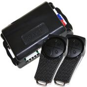 Gravity Car Alarm & Keyless Entry system w/ External Shock Sensor G2SX