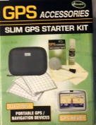 GPS ACCESSORIES Slim GPS Starter Kit-Fits Most Portable GPS/Navigation Devices* GPS Read