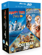 Happy Feet 2/Yogi Bear/Legend of the Guardians - The Owls Of... [Region B] [Blu-ray]