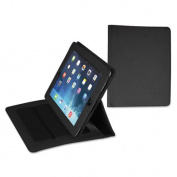 Fashion iPad Holder for iPad Air, Debossed Pattern, Black