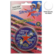 4mm Diameter Stretch Magic Bead Jewellery Elastic Cord Clear or Black in 5 or 25 Metres
