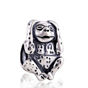 Hear No Evil Monkey 925 Sterling Silver Charm for Pandora European Charm Bracelets