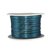 "1/8""(3mm) Double Faced Satin Ribbon 100 Yards - Teal"