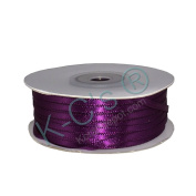 "1/8""(3mm) Double Faced Satin Ribbon 100 Yards - Plum"