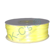 "1/8""(3mm) Double Faced Satin Ribbon 100 Yards - Baby Maize/yellow"