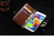 PU Synthetic leather Wallet case for Samsung Galaxy S5 S 5 2014 Smartphone