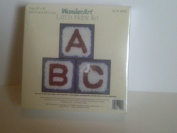 Wonder Art Latch Hook Kit Letter of the Alphabet