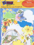 "Remember When Deluxe Kit for Your Scrapbook ""Spring"" RWDLX-112"