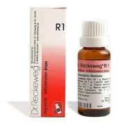 2 LOT X Dr. Reckeweg - Homoeopathic Medicine - R1 - Inflammation Drops