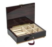 Bello Collezioni - Calabria Luxury Mahogany Men's/Women's Jewellery Box. Made in Italy