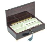 Bello Collezioni - Spello Luxury Mahogany Men's/Women's Jewellery Box. Made in Italy