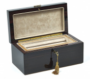 Bello Collezioni - Piazza Navona Luxury Mahogany Men's/Women's Jewellery Box. Made in Italy