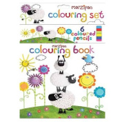Colouring Book and Pencil Sets Assorted [With Pencils]