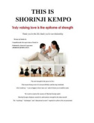 This Is Shorinji Kempo