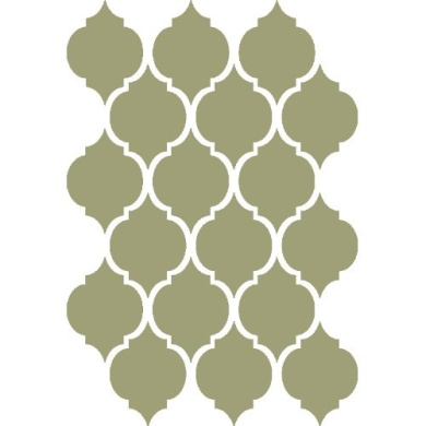 J BOUTIQUE STENCILS Moroccan Stencil Oujda Reusable Template For Crafting Canvas DIY Wall decor furniture Rugs