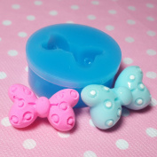 Kawaii Cute Fashion Bow Bowknot Fondant Silicone Mould for Cake Cookie Decorating Chocolate Soap Epoxy Clay Fimo Clay 009LBF