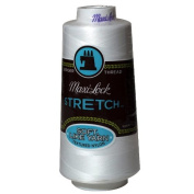 Maxi-Lock Stretch Thread 2,000 yds - #32109 White