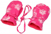 Back From Bali Baby Toddler Girl Mittens Micro Fleece Cotton Batik Stay On