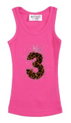 Girls Birthday Party #3 Hot Pink Cheetah Birthday Tank Top by Bubblegum Divas
