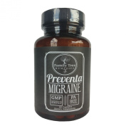 Preventa Migraine- with PA Free Butterbur Root (Petasites), Magnesium, Riboflavin, and Feverfew- 60 capsules