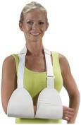 Bilt-Rite Mastex Health Double Pouch Arm Sling, White