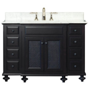 Water Creation LONDON48 London Collection 120cm (120cm with Countertop) Single Sink Bathroom Vanity Set