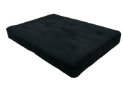 Home Life 20cm Independently-Encased Coil Premium Futon Mattress Full Size - Black