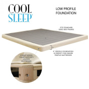 Low Profile Box Spring 10cm Great For Memory Foam Mattress- Free Shipping!