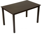 Mix and Match Dining Dinette Table & Chairs Espresso Finish 30x48 by Home Life - TABLE ONLY