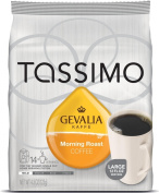 Gevalia Morning Roast, 14-Count T-Discs for Tassimo Brewers