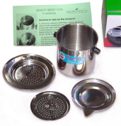 Vietnamese Traditional Coffee Phin filter 240ml, Gravity Insert