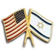 Israel & U.S. Lapel Pin