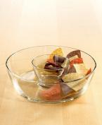 The Cellar Glass 2 pc Chip & Dip Set