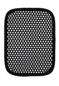 Ritz Kitchen Wears Basic Collection Pot Holder with Silicone Dots, Black