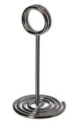 American Metalcraft NSC4 Swirl Base Number Stands, 10cm , Chrome