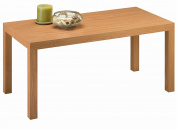 DHP Parsons Modern Coffee Table, Natural Stain