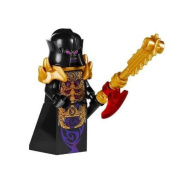 Lego Ninjago minifigure Evil Overlord with Weapon