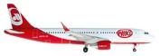 HE526401 Herpa Wings Niki A320 1:500 W:SHARKLETS Model Aeroplane