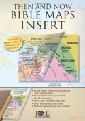Map-Then & Now Bible Maps Inse