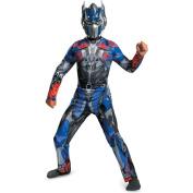Disguise Hasbro Transformers Age of Extinction Movie Optimus Prime Classic Boys Costume, Medium/7-8