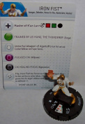 Heroclix Fear Itself #007 Iron Fist Figure with Card by WizKids