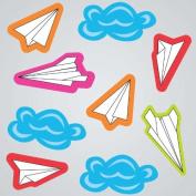 GelGems Paper Aeroplanes Small Bag Gel Clings