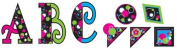 Teacher Created Resources Circle Frenzy 13cm Uppercase Fancy Font Letters